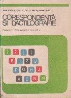 Corespondenta si dactilografie. Manual pentru licee economice, clasa a IX-a