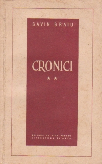 Cronici, Volumul al II-lea