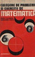 Culegere probleme exercitii matematica