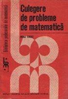 Culegere probleme matematica (Mihai Cocuz)