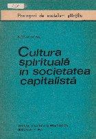 Cultura spirituala in societatea capitalista