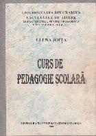 Curs Pedagogie Scolara (Elena Joita)