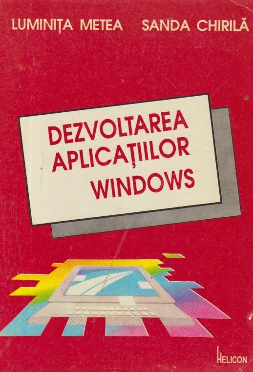 Dezvoltarea aplicatiilor Windows