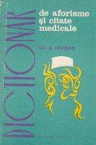 Dictionar de aforisme si citate medicale
