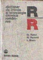 Dictionar de chimie si tehnologie chimica roman-rus