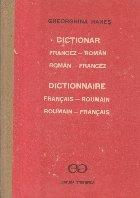Dictionar Francez - Roman / Roman - Francez