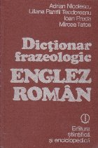 Dictionar frazeologic englez roman