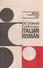 Dictionar frazeologic italian-roman