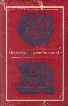 Dictionar German - Roman