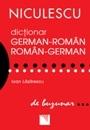 Dictionar german-roman / roman-german de buzunar