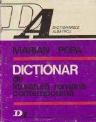 Dictionar de literatura romana contemporana