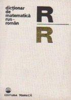 Dictionar de matematica rus-roman