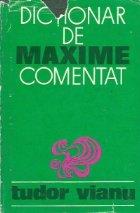 Dictionar de maxime comentat, Editia a II-a
