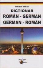 Dictionar roman german german roman