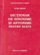 Dictionar sinonime antonime pentru elevi