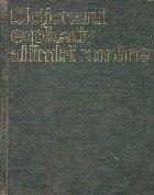 Dictionarul Explicativ al Limbii Romane - DEX (Editie 1975)