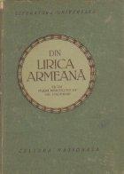 Din lirica armeana