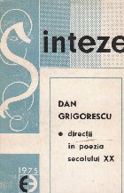 Directii in poezia secolului XX