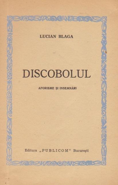 Discobolul - Aforisme si insemnari