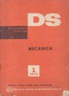 Documentare selectiva (DS) 1/1972 Mecanica