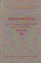Documente din istoria Partidului Comunist