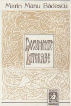 Documente literare Insemnari istorico literare