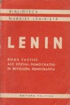 Doua tactici ale social-democratiei in revolutia democratica