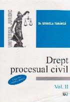 Drept procesual civil, Volumul al II-lea, ed. a II-a