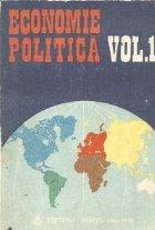 Economie politica, Volumul I
