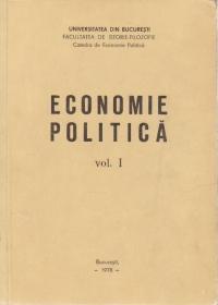 Economie politica, Volumul I - Socialismul