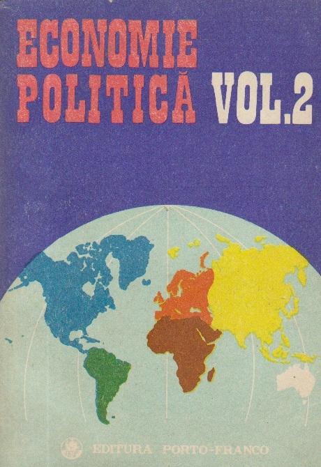 Economie politica, Volumul al II-lea