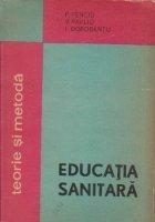 Educatia sanitara - teorie si metoda