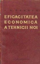 Eficacitatea economica a tehnicii noi