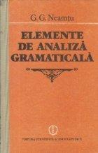 Elemente analiza gramaticala (99 confuzii/distinctii)
