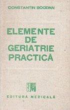 Elemente de geriatrie practica