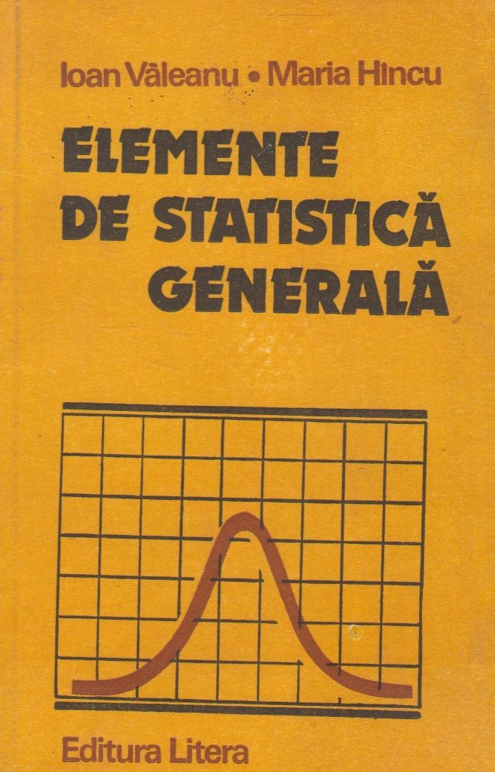 Elemente de statistica generala