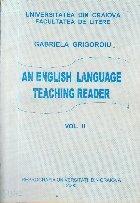 An English Language Teaching Reader, Vol. II