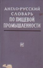 English-Russian Dictionary of Food Industry / Anglo-Ruskii Slovar po Pisceboi Promislennosti (Dictionar englez-rus de industrie alimentara)
