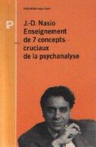 Enseignement concepts cruciaux psychanalyse