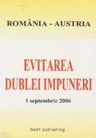 Evitarea dublei impuneri Romania - Austria, 1 septenbrie 2006
