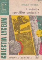 Evolutia speciilor animale