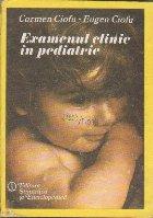 Examenul Clinic in Pediatrie