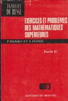 Exercices et problemes des mathematiques superieurs, Partie II