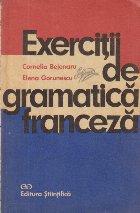 Exercitii gramatica franceza