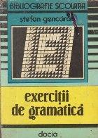 Exercitii gramatica