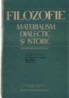 Filozofie Materialism dialectic istoric