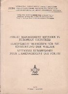 Forest Management Methods in European Countries (In limbile engleza, germana si franceza)