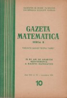 Gazeta matematica, 10/1970