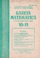 Gazeta matematica, 10-11/1983