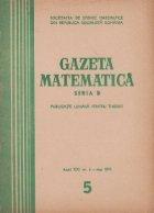 Gazeta matematica, 5/1966